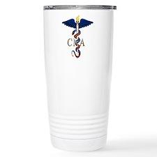 CNA Caduceus Travel Coffee Mug