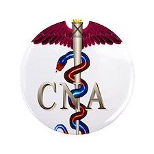 """CNA Caduceus 3.5"""" Button (100 pack)"""