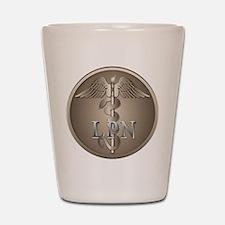 LPN Caduceus Shot Glass