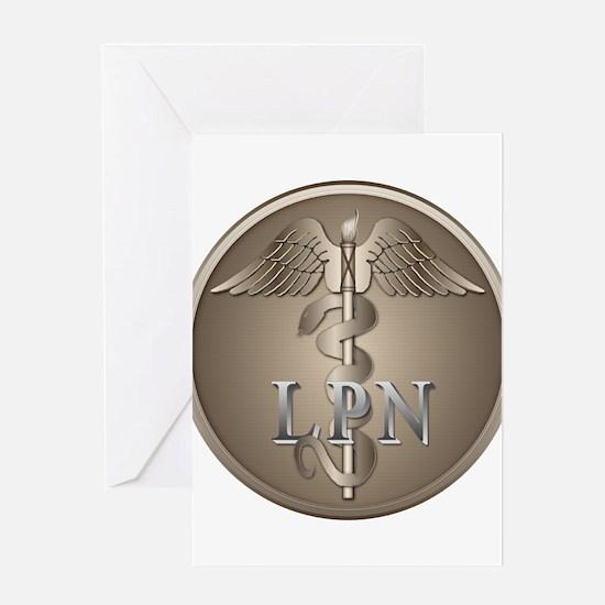 LPN Caduceus Greeting Card