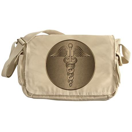 MD Caduceus Messenger Bag