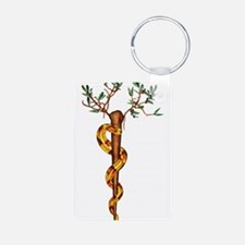 Staff of Aesculapius Keychains