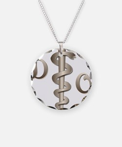 Orthodontist Necklace Circle Charm
