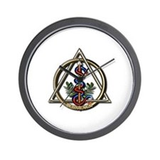 Dentistry Caduceus Wall Clock