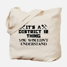District 12 Thing Tote Bag