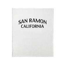 San Ramon California Throw Blanket