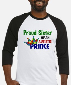 Proud Of My Autistic Prince Baseball Jersey