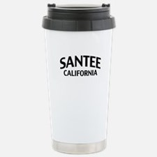 Santee California Stainless Steel Travel Mug