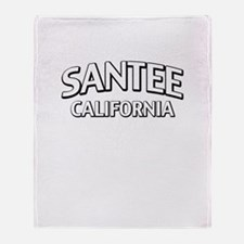 Santee California Throw Blanket