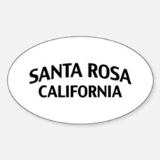 Santa Rosa California Decal