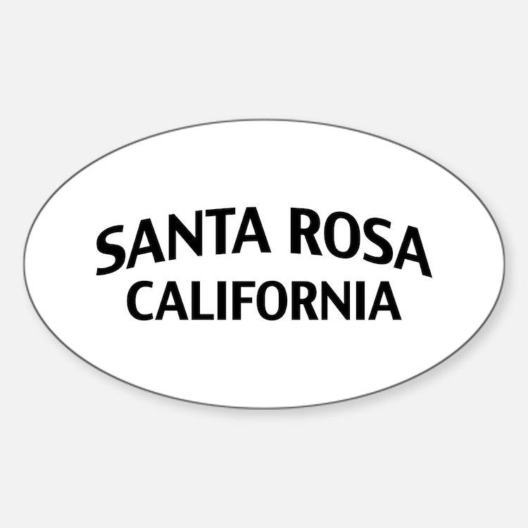 Santa Rosa California Decal