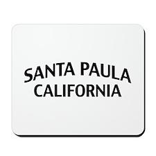 Santa Paula California Mousepad