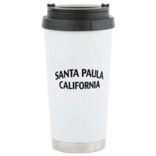 Santa Paula California Travel Mug
