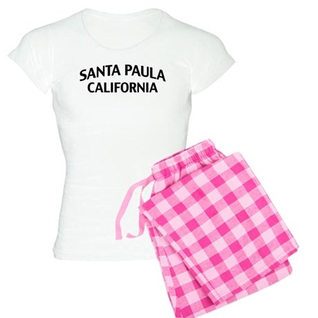 Santa Paula California Women's Light Pajamas