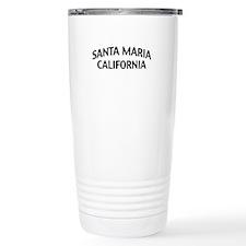 Santa Maria California Travel Coffee Mug