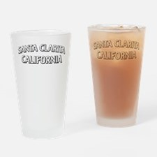 Santa Clarita California Drinking Glass