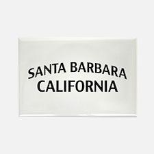 Santa Barbara California Rectangle Magnet