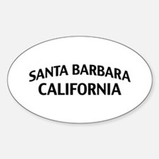 Santa Barbara California Decal