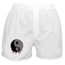 Blood Drip Ying Yang Boxer Shorts
