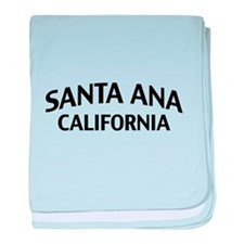 Santa Ana California baby blanket
