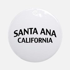Santa Ana California Ornament (Round)