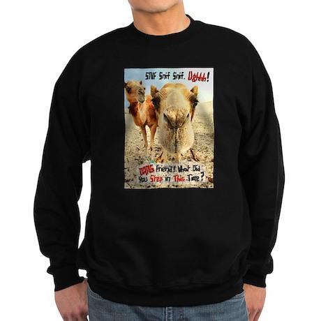 What did You Step In? Sweatshirt (dark)