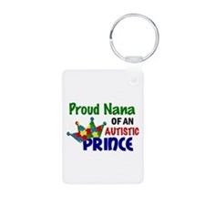 Proud Of My Autistic Prince Keychains