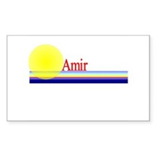 Amir Rectangle Decal