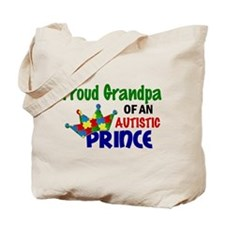Proud Of My Autistic Prince Tote Bag