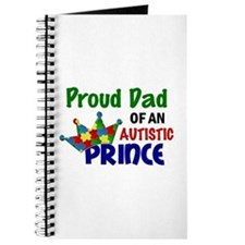 Proud Of My Autistic Prince Journal