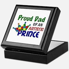 Proud Of My Autistic Prince Keepsake Box