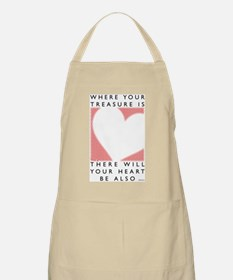 Where your treasure is... BBQ Apron