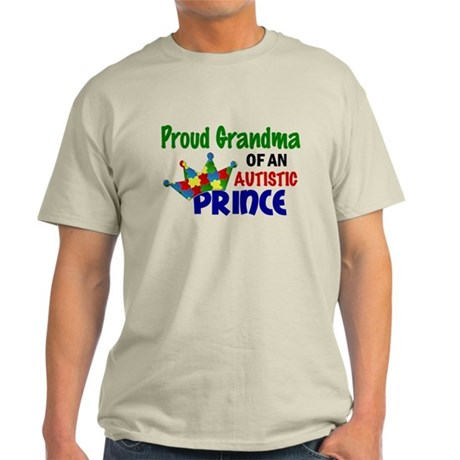 Proud Of My Autistic Prince Light T-Shirt