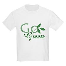 Go Green: T-Shirt