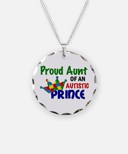 Proud Of My Autistic Prince Necklace