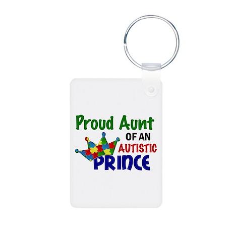 Proud Of My Autistic Prince Aluminum Photo Keychai