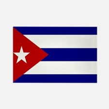 Cuban Flag Rectangle Magnet