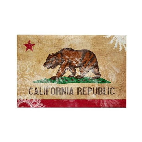 California Flag Rectangle Magnet (10 pack)