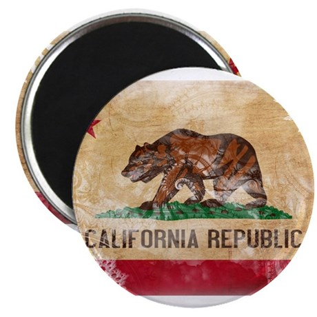 "California Flag 2.25"" Magnet (10 pack)"