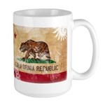 California Flag Large Mug