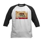 California Flag Kids Baseball Jersey