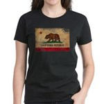 California Flag Women's Dark T-Shirt