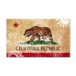California Flag 22x14 Wall Peel