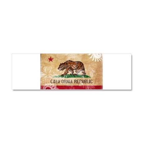 California Flag Car Magnet 10 x 3
