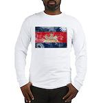 Cambodia Flag Long Sleeve T-Shirt