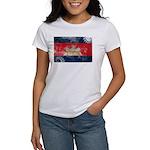 Cambodia Flag Women's T-Shirt