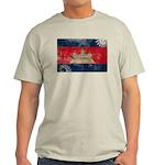Cambodia Flag Light T-Shirt
