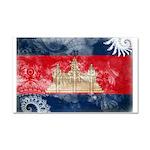 Cambodia Flag Car Magnet 20 x 12