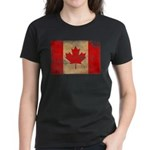 Canada Flag Women's Dark T-Shirt