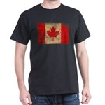 Canada Flag Dark T-Shirt